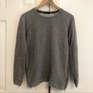 GAP Zip-Up Side Sweatshirt
